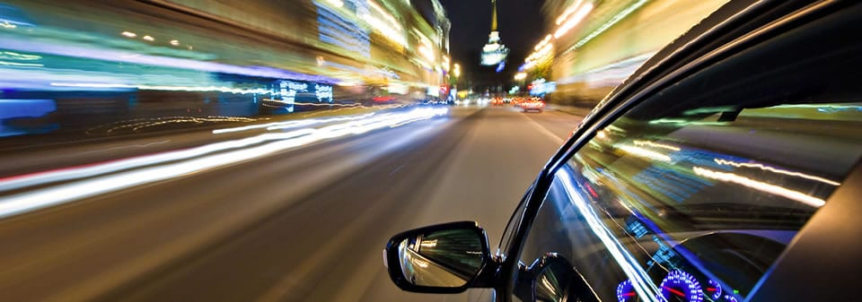 unlicenced driving at night