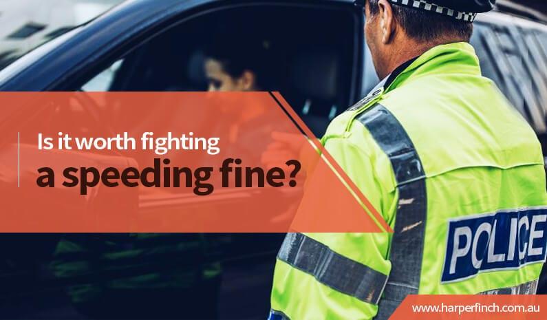 Is it worth fighting a speeding fine?