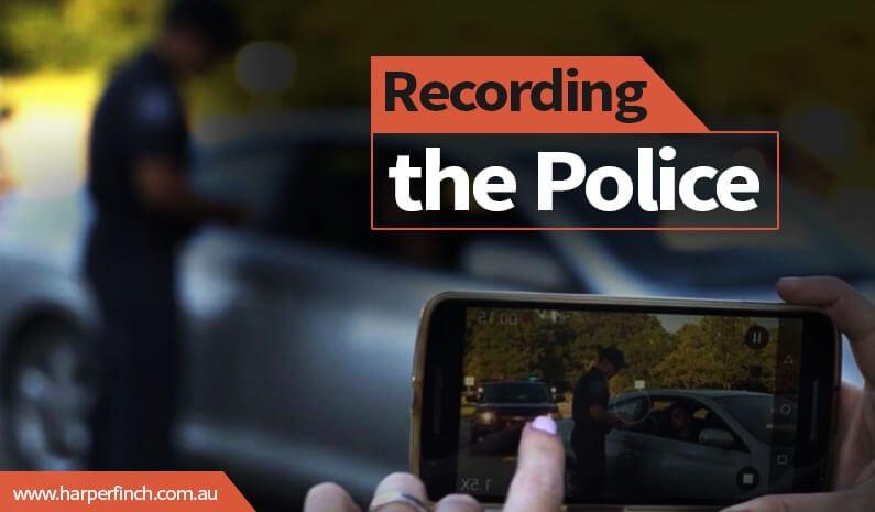 Recording the police Brisbane Queensland